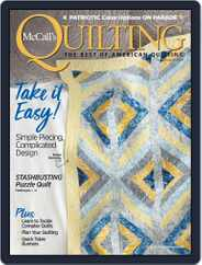 McCall's Quilting (Digital) Subscription July 1st, 2019 Issue