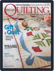 McCall's Quilting (Digital) Subscription May 1st, 2019 Issue