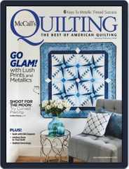 McCall's Quilting (Digital) Subscription January 1st, 2019 Issue