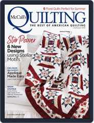 McCall's Quilting (Digital) Subscription July 1st, 2018 Issue