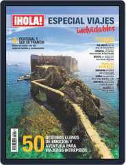 ¡hola! Especial Viajes (Digital) Subscription August 27th, 2018 Issue