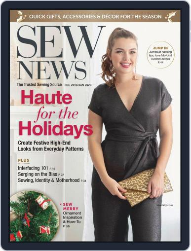 SEW NEWS (Digital) December 1st, 2019 Issue Cover