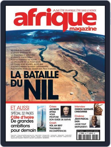 Afrique July 1st, 2020 Digital Back Issue Cover