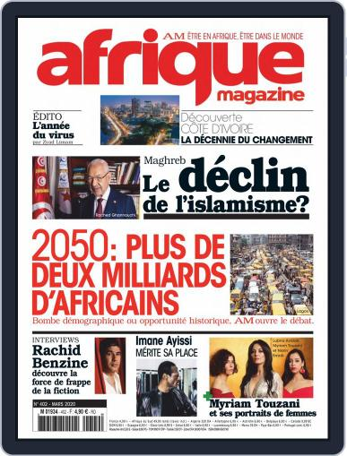 Afrique March 1st, 2020 Digital Back Issue Cover