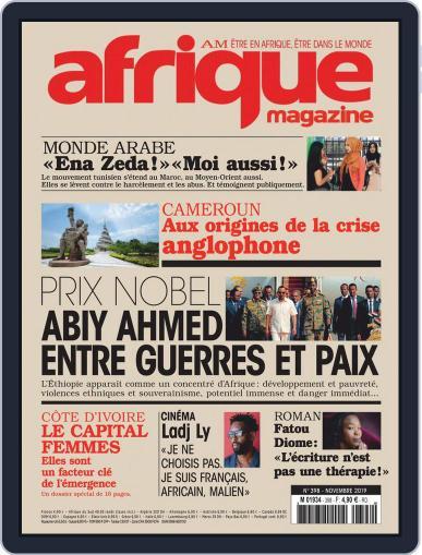 Afrique November 1st, 2019 Digital Back Issue Cover