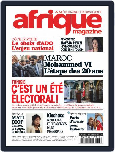 Afrique August 1st, 2019 Digital Back Issue Cover
