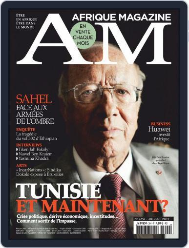 Afrique July 1st, 2019 Digital Back Issue Cover