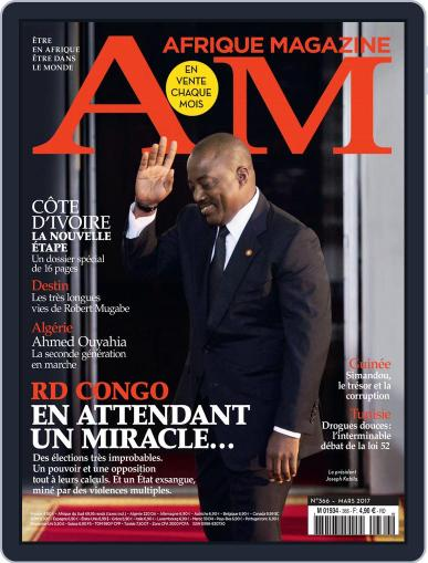 Afrique March 1st, 2017 Digital Back Issue Cover