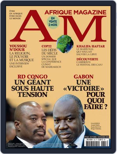 Afrique October 1st, 2016 Digital Back Issue Cover