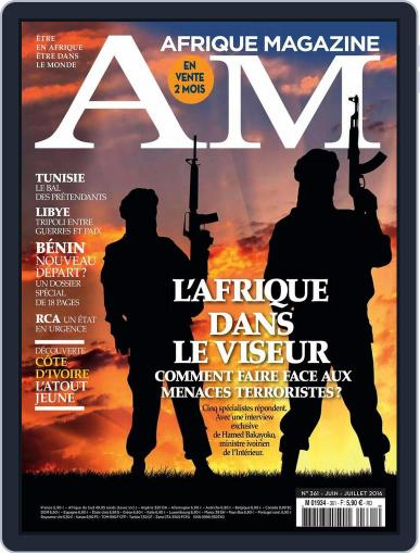 Afrique June 5th, 2016 Digital Back Issue Cover