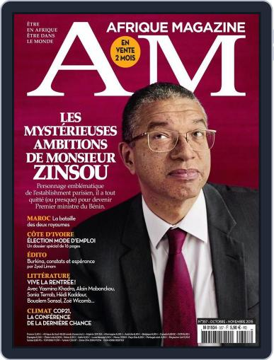 Afrique October 4th, 2015 Digital Back Issue Cover