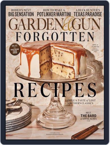Garden & Gun (Digital) August 1st, 2020 Issue Cover