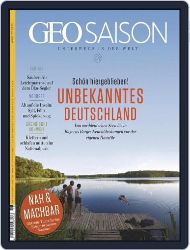 GEO Saison (Digital) August 1st, 2020 Issue Cover