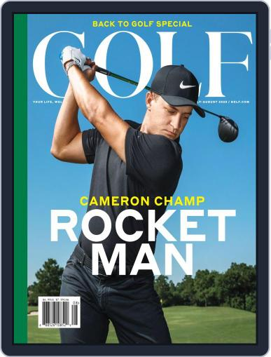 Golf July 1st, 2020 Digital Back Issue Cover