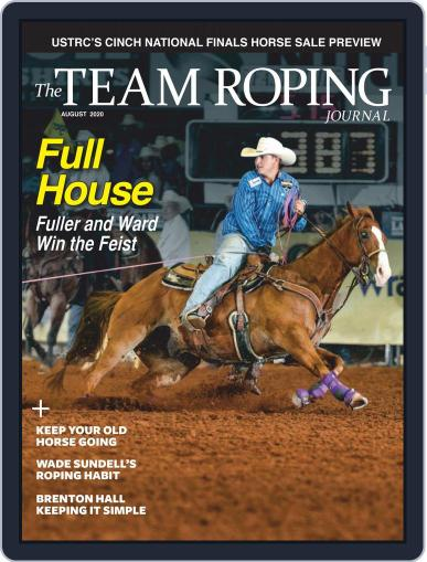 The Team Roping Journal (Digital) August 1st, 2020 Issue Cover