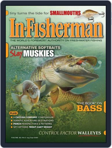 In-Fisherman August 1st, 2020 Digital Back Issue Cover