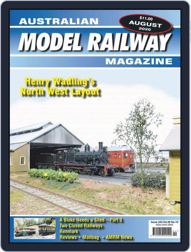 Australian Model Railway (Digital) August 1st, 2020 Issue Cover