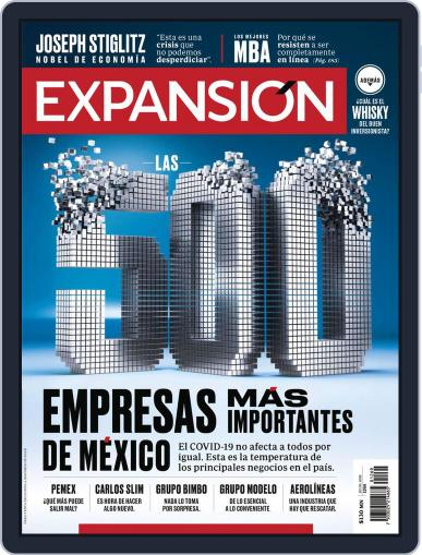 Expansión (Digital) July 1st, 2020 Issue Cover
