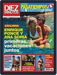 Diez Minutos (Digital) Subscription July 22nd, 2020 Issue