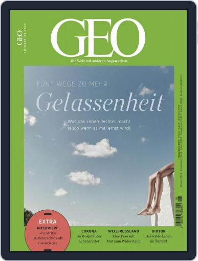 GEO August 1st, 2020 Digital Back Issue Cover