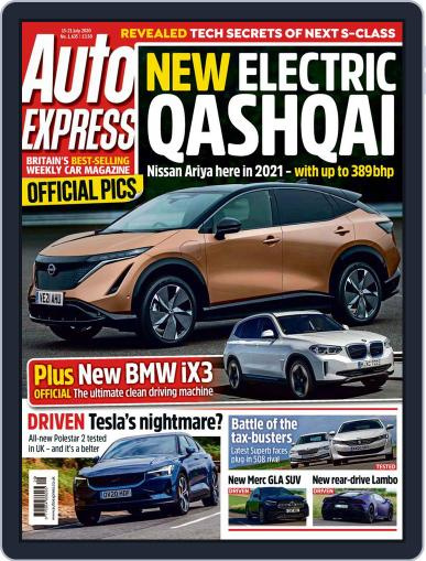 Auto Express (Digital) July 15th, 2020 Issue Cover