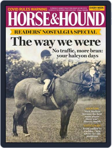 Horse & Hound (Digital) July 9th, 2020 Issue Cover