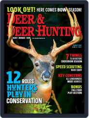 Deer & Deer Hunting (Digital) Subscription August 1st, 2020 Issue