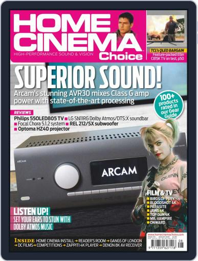 Home Cinema Choice (Digital) August 1st, 2020 Issue Cover