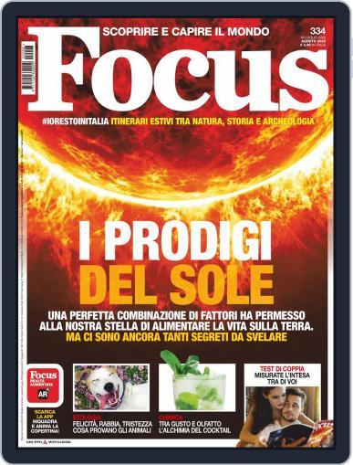 Focus Italia (Digital) August 1st, 2020 Issue Cover