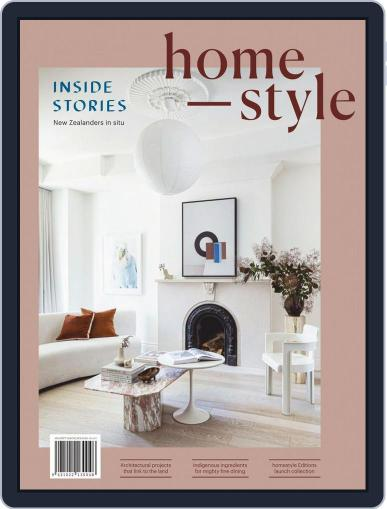 homestyle New Zealand August 1st, 2020 Digital Back Issue Cover