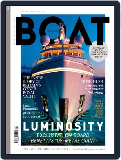 Boat International (Digital) August 1st, 2020 Issue Cover