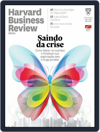 Harvard Business Review Brasil (Digital) July 1st, 2020 Issue Cover