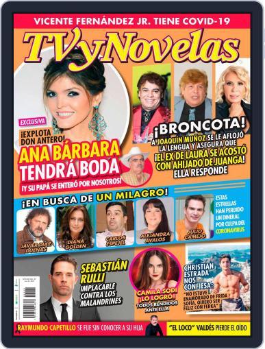 TV y Novelas México (Digital) July 20th, 2020 Issue Cover