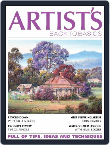Artists Back to Basics July 1st, 2020 Digital Back Issue Cover
