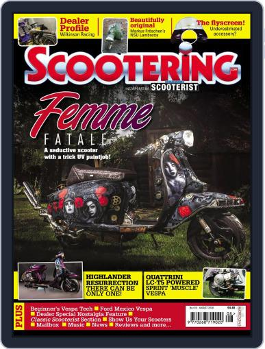 Scootering (Digital) August 1st, 2020 Issue Cover