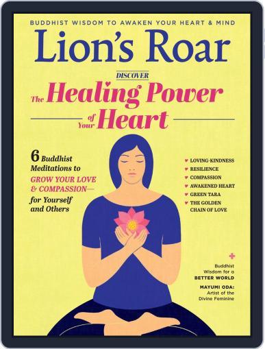Lion's Roar September 1st, 2020 Digital Back Issue Cover