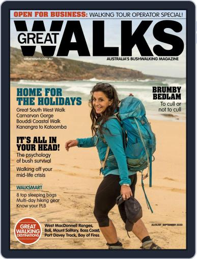 Great Walks (Digital) August 1st, 2020 Issue Cover