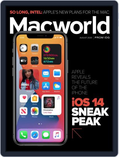 Macworld August 1st, 2020 Digital Back Issue Cover