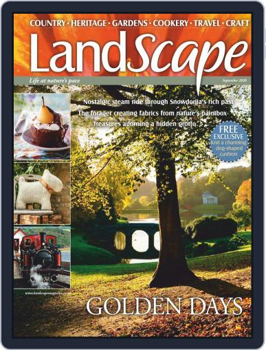 Landscape (Digital) September 1st, 2020 Issue Cover