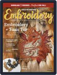 CREATIVE MACHINE EMBROIDERY (Digital) Subscription July 1st, 2020 Issue