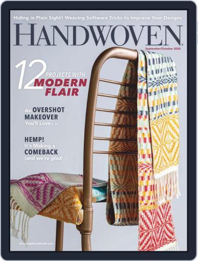 Handwoven (Digital) September 1st, 2020 Issue Cover
