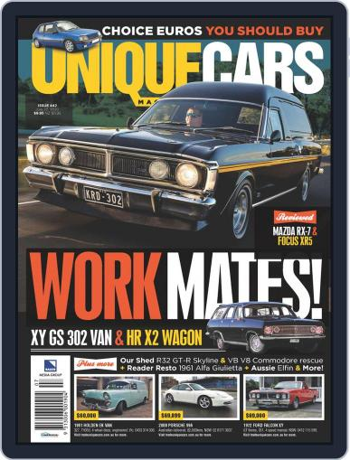 Unique Cars Australia (Digital) July 15th, 2020 Issue Cover