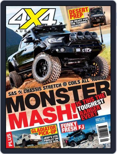 4x4 Magazine Australia August 1st, 2020 Digital Back Issue Cover