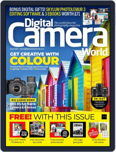 Digital Camera World August 1st, 2020 Issue Cover