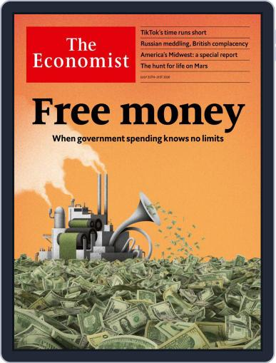The Economist (Digital) July 25th, 2020 Issue Cover