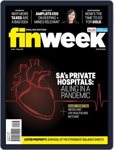 Finweek - English (Digital) July 30th, 2020 Issue Cover