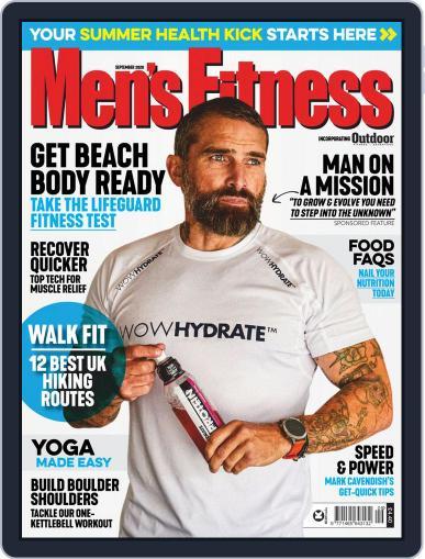 Men's Fitness UK (Digital) September 1st, 2020 Issue Cover