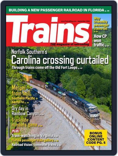 Trains (Digital) September 1st, 2020 Issue Cover