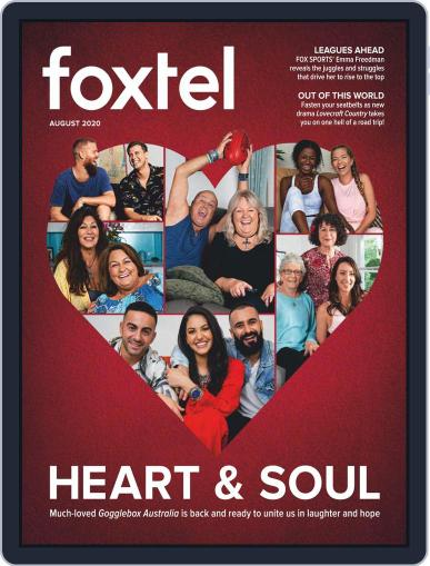 Foxtel (Digital) August 1st, 2020 Issue Cover