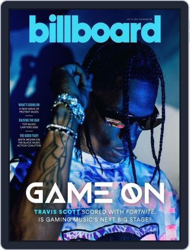 Billboard (Digital) July 25th, 2020 Issue Cover